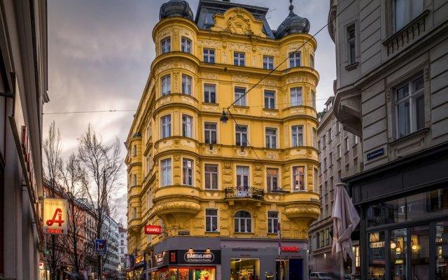 Отель SKY9 Apartment City Center Австрия, Вена - отзывы, цены и фото номеров - забронировать отель SKY9 Apartment City Center онлайн вид на фасад