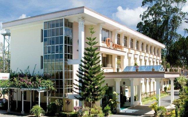 Отель Golf 1 вид на фасад