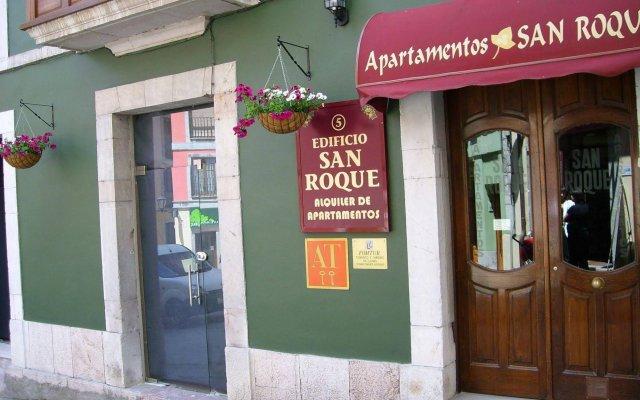 Отель Apartamentos San Roque Испания, Льянес - отзывы, цены и фото номеров - забронировать отель Apartamentos San Roque онлайн вид на фасад
