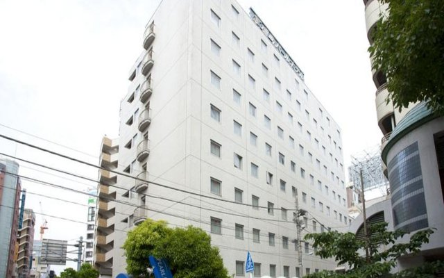 Pearl Hotel Kayabachou вид на фасад