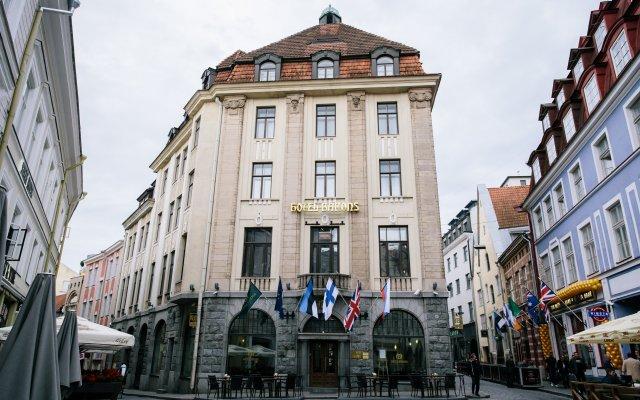 Hestia Hotel Barons вид на фасад