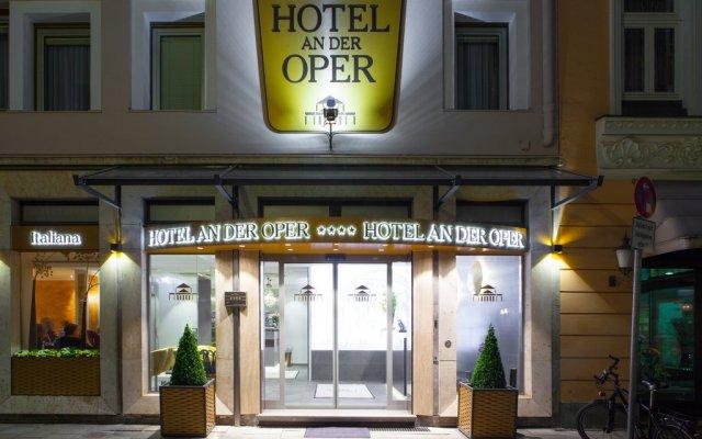 Hotel An Der Oper вид на фасад