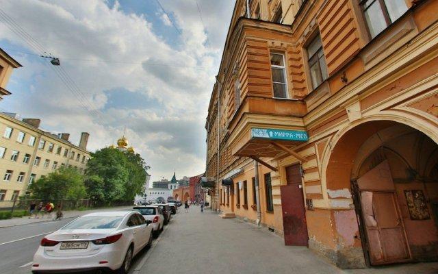 Мини-Отель Невский Ампир вид на фасад