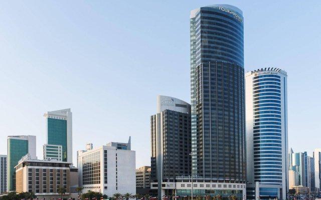 Отель Four Points by Sheraton Kuwait вид на фасад