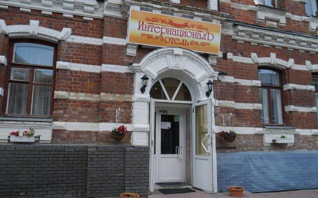Гостиница ИнтернационалЪ вид на фасад