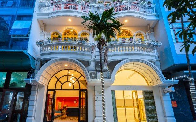 Отель The Poppy Villa & Hotel Вьетнам, Ханой - отзывы, цены и фото номеров - забронировать отель The Poppy Villa & Hotel онлайн вид на фасад