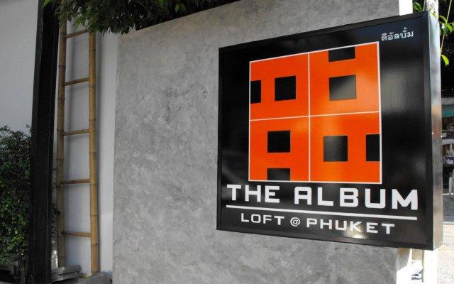 Отель The Album Loft at Phuket вид на фасад
