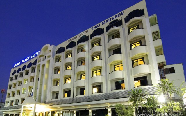 Отель Rome Place Hotel Таиланд, Пхукет - 3 отзыва об отеле, цены и фото номеров - забронировать отель Rome Place Hotel онлайн вид на фасад