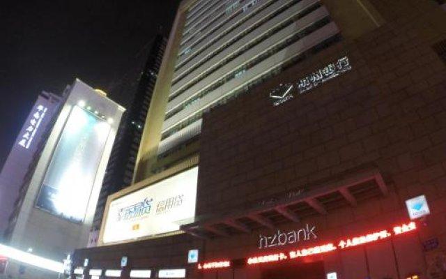 Shenzhen Oneway Hotel Шэньчжэнь вид на фасад