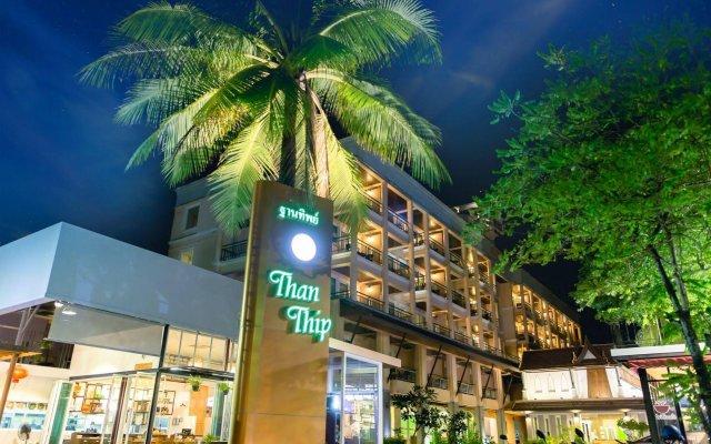 Отель Thanthip Beach Resort вид на фасад