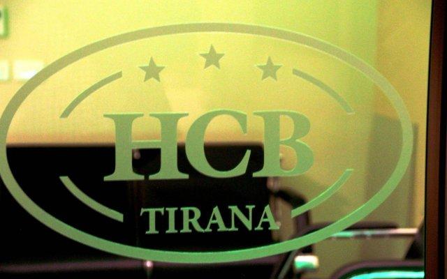 Capital Tirana Hotel вид на фасад