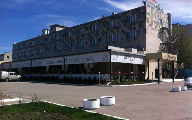 Гостиница Арт-Ульяновск вид на фасад