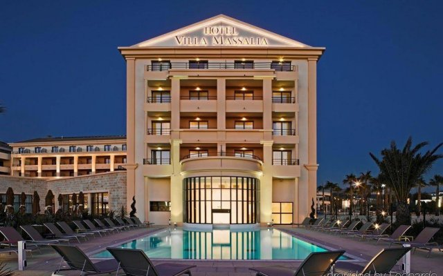 Отель Golden Tulip Villa Massalia вид на фасад