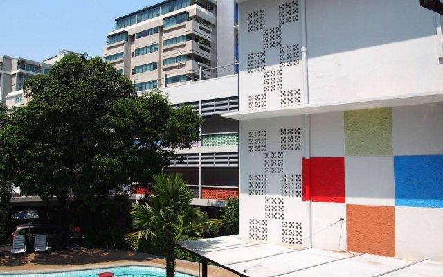 Отель RetrOasis Таиланд, Бангкок - отзывы, цены и фото номеров - забронировать отель RetrOasis онлайн балкон