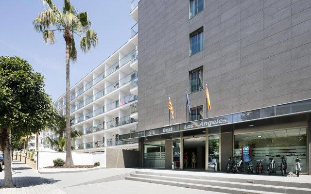 Hotel Best Los Angeles вид на фасад