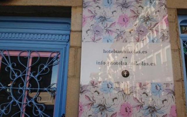 Отель San Nikolas Испания, Фуэнтеррабиа - отзывы, цены и фото номеров - забронировать отель San Nikolas онлайн вид на фасад