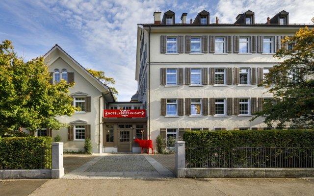 Отель Swiss Night by Fassbind Швейцария, Цюрих - 1 отзыв об отеле, цены и фото номеров - забронировать отель Swiss Night by Fassbind онлайн вид на фасад