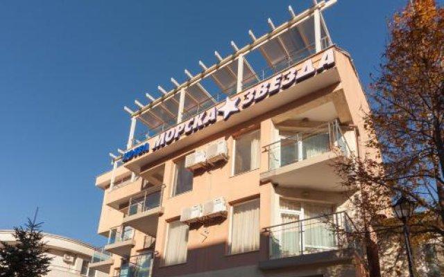 Отель Family Hotel Morska Zvezda Болгария, Балчик - отзывы, цены и фото номеров - забронировать отель Family Hotel Morska Zvezda онлайн вид на фасад
