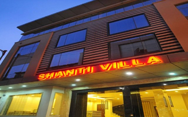 Отель Shanti Villa вид на фасад