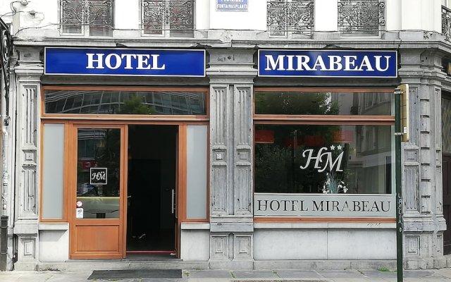 Hotel Mirabeau вид на фасад
