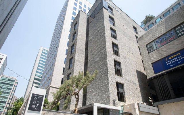Отель Soulhada Южная Корея, Сеул - отзывы, цены и фото номеров - забронировать отель Soulhada онлайн вид на фасад