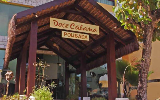 Отель Pousada Doce Cabana вид на фасад