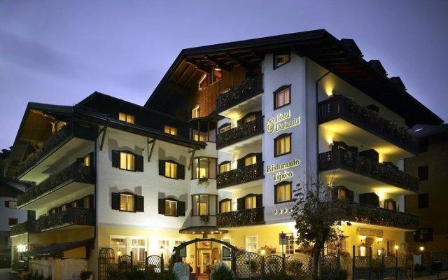 Hotel Dolomiti вид на фасад