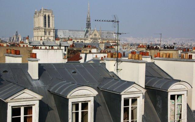Отель Pick a Flat - St-Germain St-Michel Париж вид на фасад