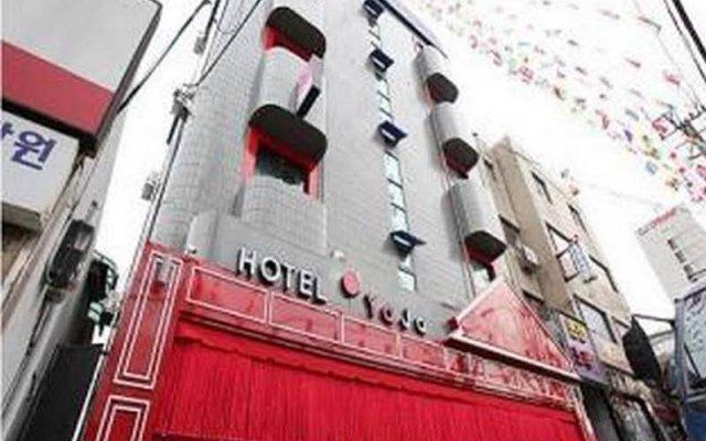 Hotel Yaja Seoul вид на фасад