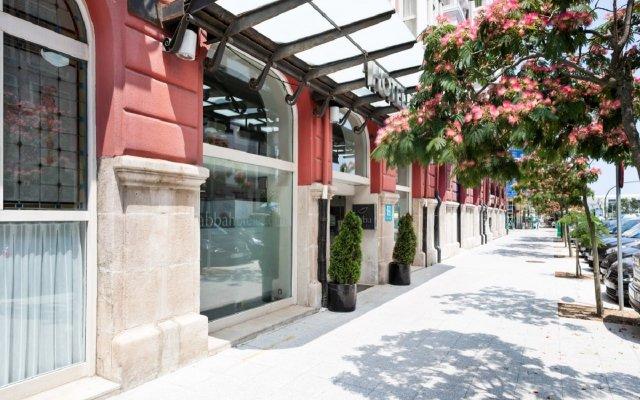 Abba Santander Hotel вид на фасад