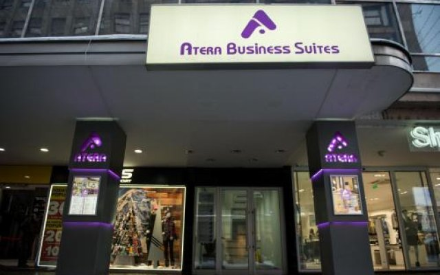 Отель Atera Business Suites вид на фасад
