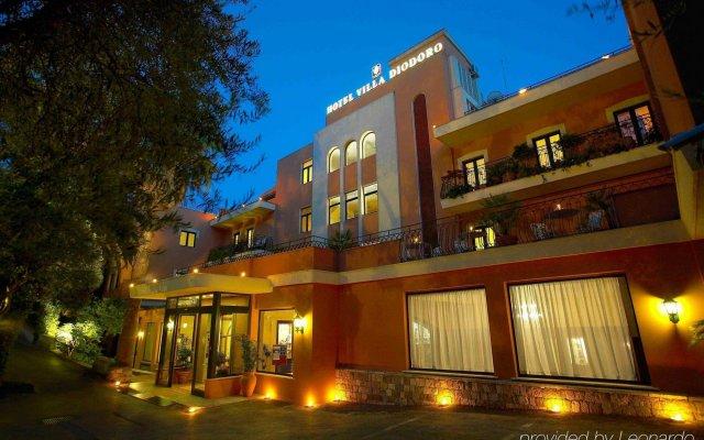 Villa Diodoro Hotel вид на фасад