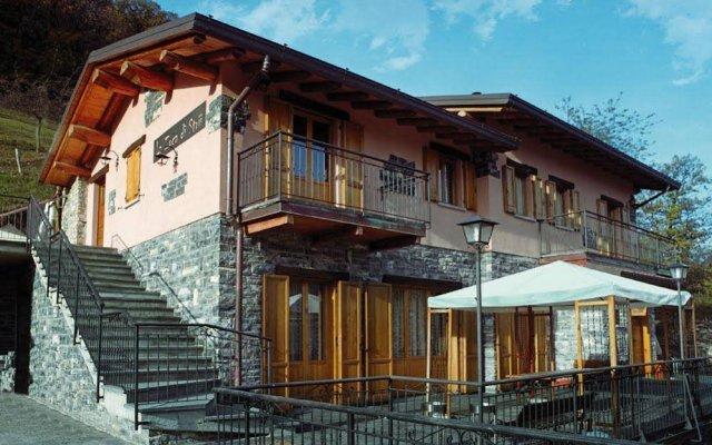 Отель La Zoca Di Strii Скиньяно вид на фасад