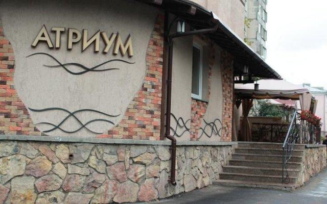 Гостиница Мини-Отель Атриум в Кургане отзывы, цены и фото номеров - забронировать гостиницу Мини-Отель Атриум онлайн Курган вид на фасад