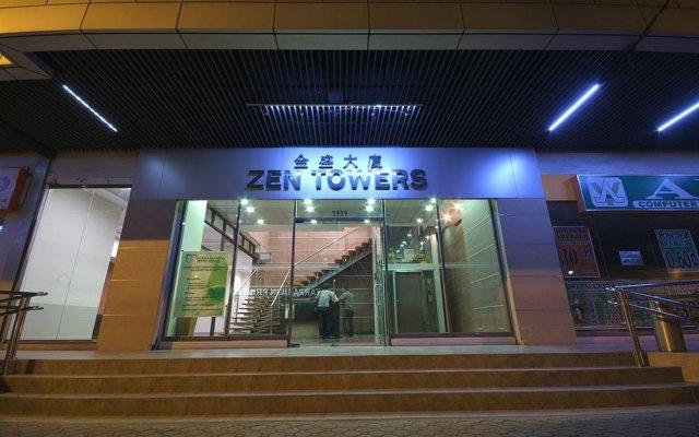 Отель Zen Towers Филиппины, Манила - отзывы, цены и фото номеров - забронировать отель Zen Towers онлайн вид на фасад