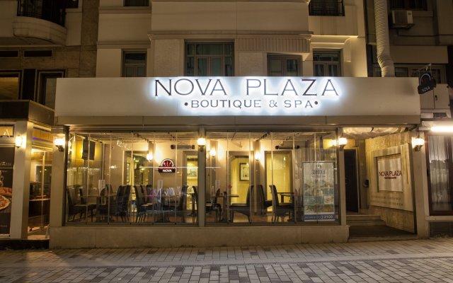 Nova Plaza Boutique Hotel & Spa вид на фасад