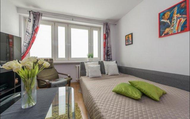 Отель P&O Apartments Emilii Plater Польша, Варшава - отзывы, цены и фото номеров - забронировать отель P&O Apartments Emilii Plater онлайн комната для гостей