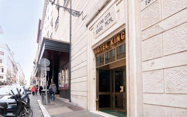 Отель King Италия, Рим - 9 отзывов об отеле, цены и фото номеров - забронировать отель King онлайн вид на фасад
