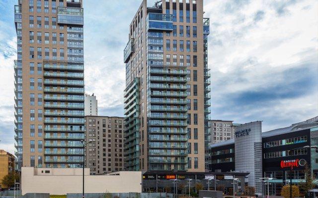 Апартаменты Chopin Apartments Platinum Towers вид на фасад