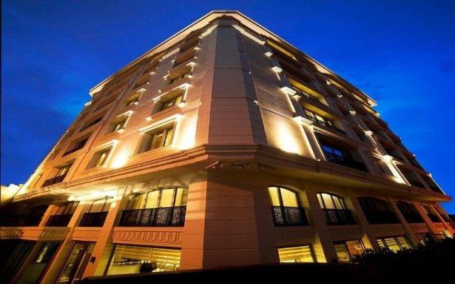 Отель Taba Luxury Suites вид на фасад