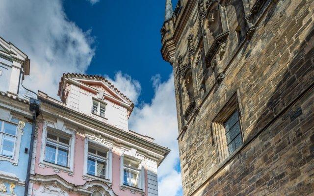 Отель Pod Veží Прага вид на фасад
