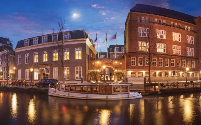 Отель Sofitel Legend The Grand Amsterdam вид на фасад