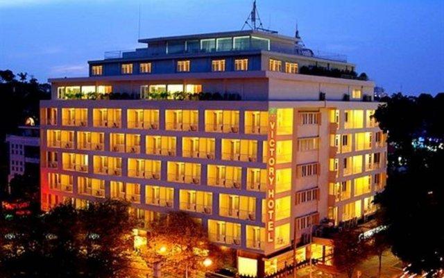 Отель Victory Saigon Hotel Вьетнам, Хошимин - отзывы, цены и фото номеров - забронировать отель Victory Saigon Hotel онлайн вид на фасад