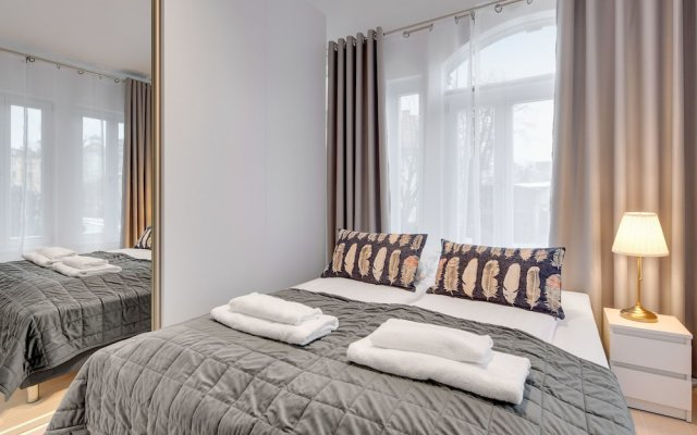 Апартаменты Lion Apartments -Chopina 29 вид на фасад