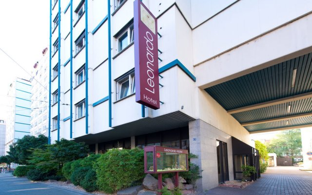Leonardo Hotel Heidelberg City Center вид на фасад