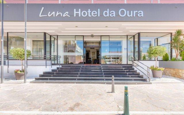 Luna Hotel Da Oura Албуфейра вид на фасад
