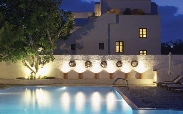 Отель Acqua Vatos Santorini Hotel Греция, Остров Санторини - отзывы, цены и фото номеров - забронировать отель Acqua Vatos Santorini Hotel онлайн вид на фасад