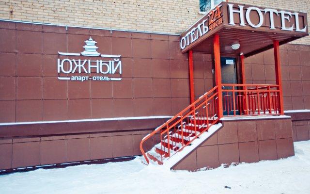 Гостиница Апарт-Отель Южный в Барнауле 7 отзывов об отеле, цены и фото номеров - забронировать гостиницу Апарт-Отель Южный онлайн Барнаул вид на фасад