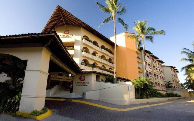 Отель Canto del Sol Plaza Vallarta Beach & Tennis Resort - Все включено вид на фасад