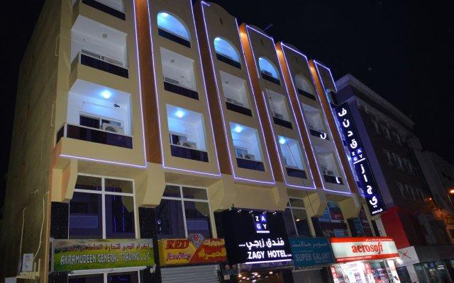 Zagy Hotel вид на фасад
